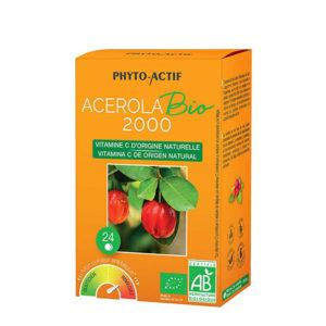 ACEROLA 2000 BIO MASTICABLE 24 COMPRIMIDOS PHYTO-ACTIF
