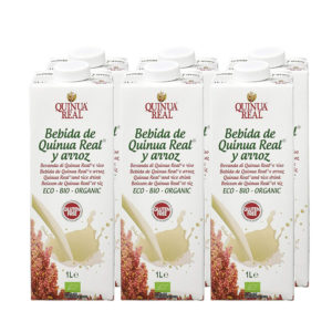 Bebida de arroz y quinoa bio 6x1L Quinua Real