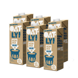 Bebida de avena Calcio Plus bio 6X1L Oatly