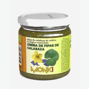 Crema de pipas de calabaza bio 330g Monki