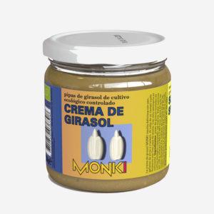 Crema de pipas de girasol bio 330g Monki