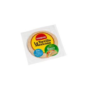 Tortilla maiz blanco sin gluten 200 g Nagual