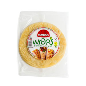 Wraps sin gluten 240g Nagual