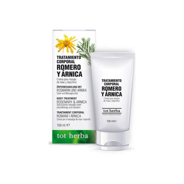 Tratamiento corporal de Romero y Arnica 100 ml Tot herba