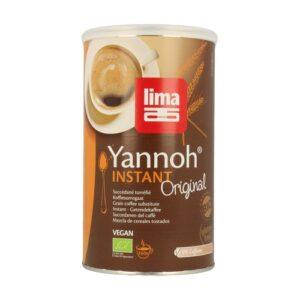 Yannoh instantáneo (cafe de cereales) bio lata 250 g Lima