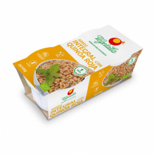 Arroz integral y quinoa roja bio 2x125 g Vegetalia