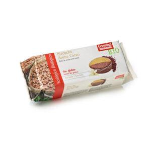 Bizcocho de avena cacao sin gluten bio 180 g Germinal