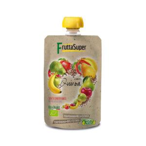 Fruta super con Quinoa bio doypack 120 g Natura Nuova