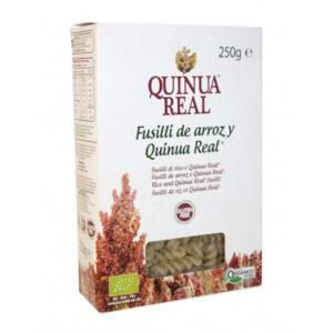 Fusilli de arroz y quinoa bio 250 g Quinua Real