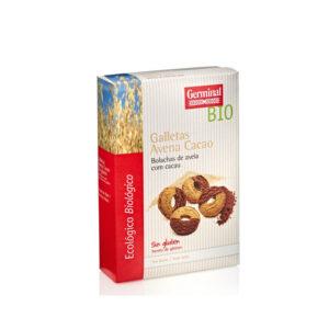 Galletas de avena sin gluten con cacao bio 250 g Germinal