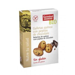 Galletas quinoa con pepitas de chocolate bio sin gluten 250 g Germinal