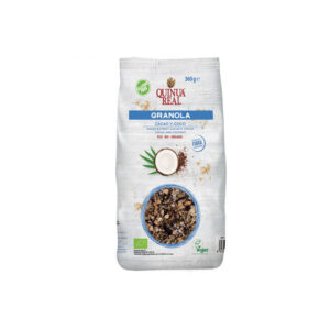 Granola quinoa con cacao y coco bio 360 g Quinua Real