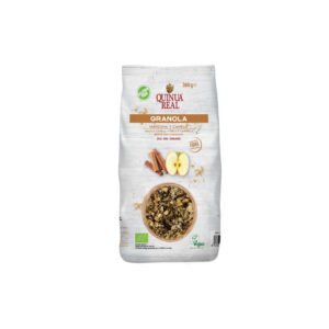 Granola quinoa, manzana y canela bio 360 g Quinua Real