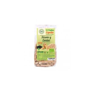 Palitos de Espelta con Sesamo y Comino bio 150 g Sol Natural
