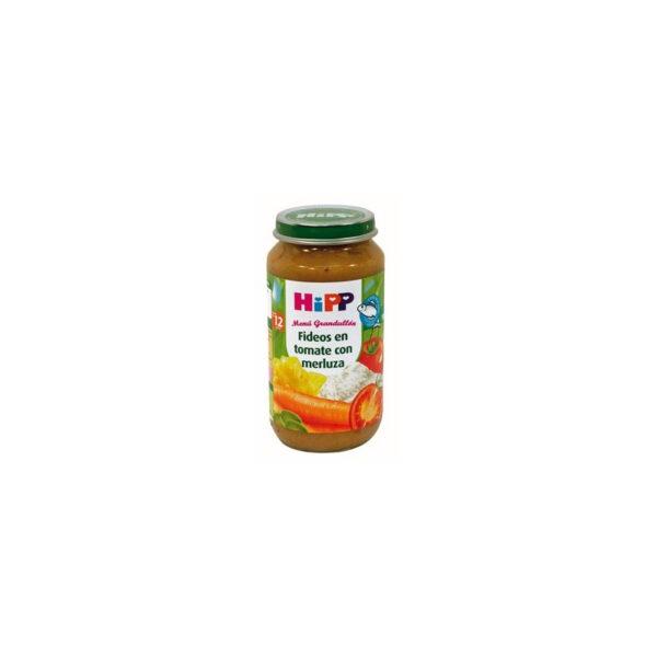 Potito de fideos en tomate con merluza +12M 250 g Hipp