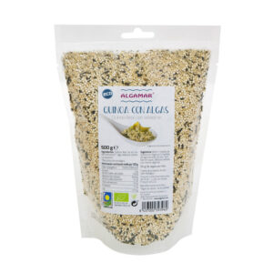 Quinoa con algas bio 500g Algamar