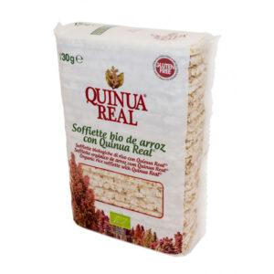 Soffiette de arroz y quinoa bio 130 g Quinua Real