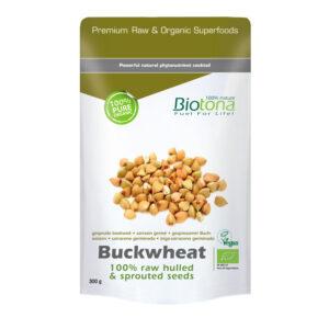 Buckwheat (semillas germinadas de trigo sarraceno) superfood bio 300g Biotona