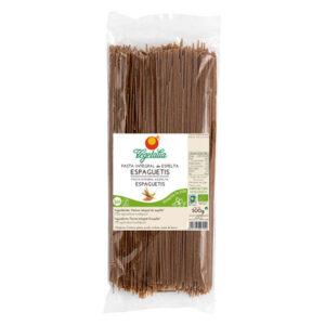 espaguetis de espelta integral bio 500g Vegetalia