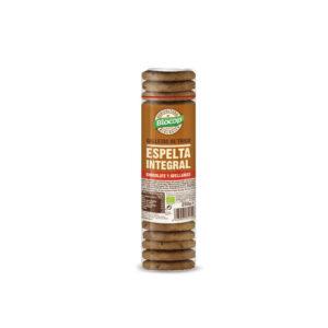 Galletas espelta integral chocolate avellanas Bio 250g Biocop