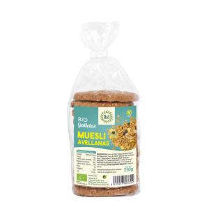 Galletas de Muesli con Avellanas bio 250 g Sol Natural