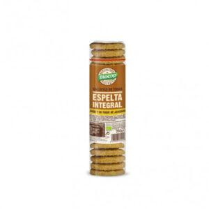 Galletas Espelta integral Jengibre Limon Bio 250g Biocop