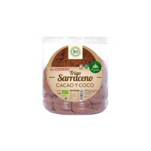 Galletas Granel T.Sarraceno Coco Cacao Bio 1.3Kg Sol Natural