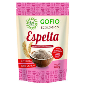Gofio de Espelta Integral Bio 400g Sol Natural
