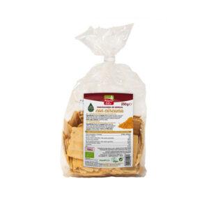 Mini crackers de espelta con curcuma y pimienta bio 250 gr La Finestra