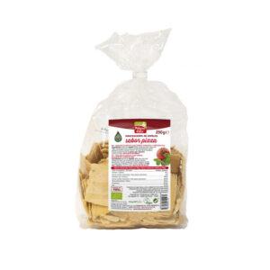 Mini crackers de espelta sabor pizza bio 250 g La Finestra