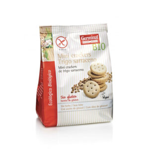 Mini crackers de trigo sarraceno bio sin gluten 100 g Germinal