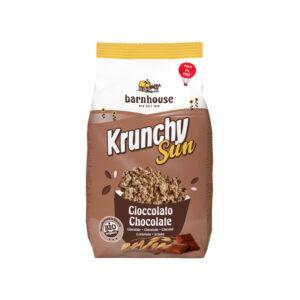 Muesli Krunchy Sun chocolate Bio 375g Barnhouse