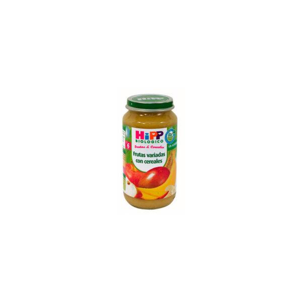 Potito de frutas variadas con cereales +6M 250 g Hipp