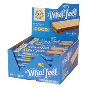 Whafeel Snack espelta y coco bio 20x30 g Sol natural