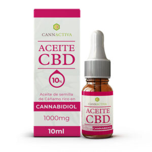 Aceite CBD Cannabidiol 10% 10ml Cannactiva