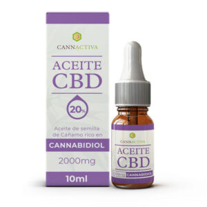 Aceite CBD Cannabidiol 20% 10ml Cannactica