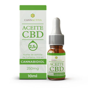 Aceite CBD Cannabidiol 2.5% 10ml Cannactiva