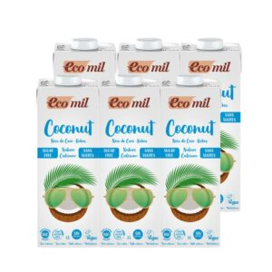 Bebida coconut Nature Calcium Bio 6x1L Ecomil