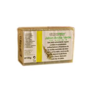 Jabon de arcilla verde y arbol del te 100 g Aromasensia
