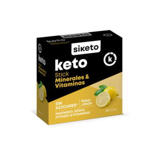 Minerales y Vitaminas 20 sticks Siketo