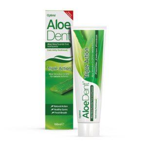 Pasta dentifrica Triple Accion Aloe y Q10 100ml Aloe Dent
