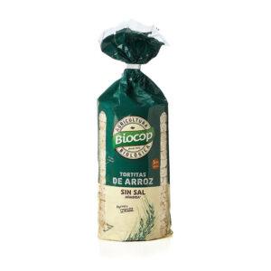 Tortitas de arroz sin sal bio 200 g Biocop