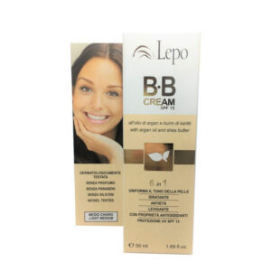 BB cream 6 en 1 color medio claro Lepo