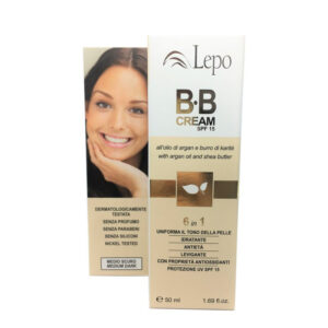BB cream 6 en 1 color medio oscuro Lepo