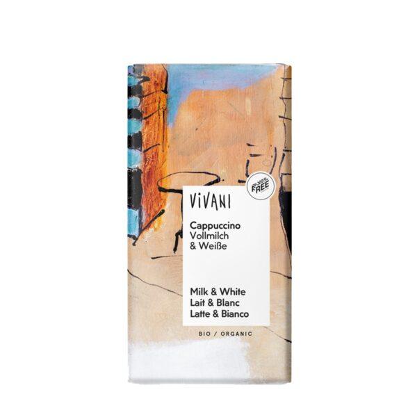Chocolate con cafe cappuccino bio 100g Vivani