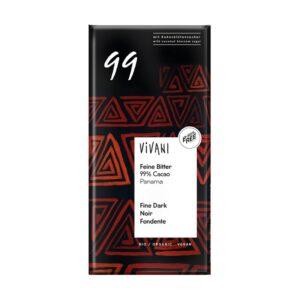 Chocolate negro 99% bio 80g Vivani