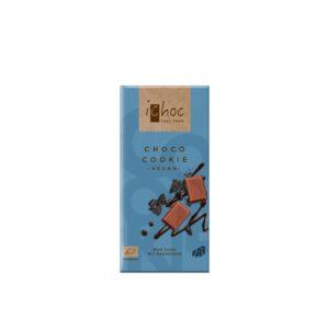 Chocolate vegano choco cookie Bio 80g Ichoc