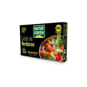 Cubito caldo de verduras bio 10x8,4g Naturgreen