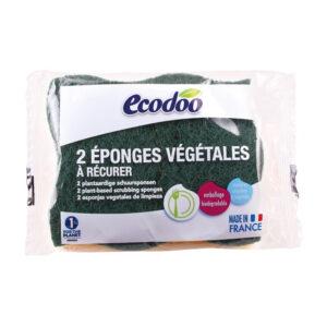 Esponja estropajo vegetal 2uds Ecodoo