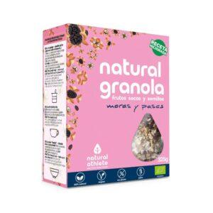 Granola de Moras y Pasas Bio 325g Natural Athlete